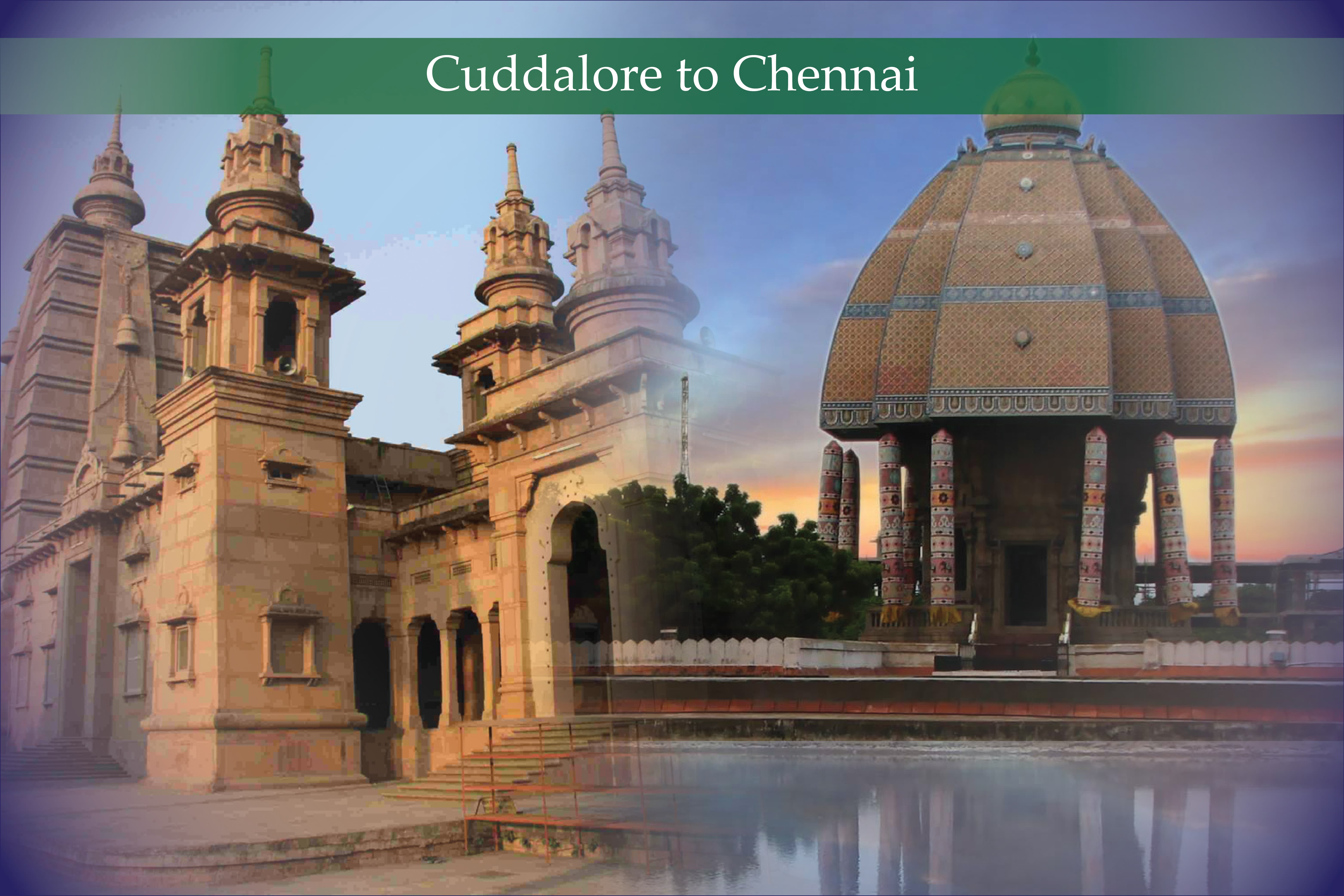 cuddalore to chennai cab