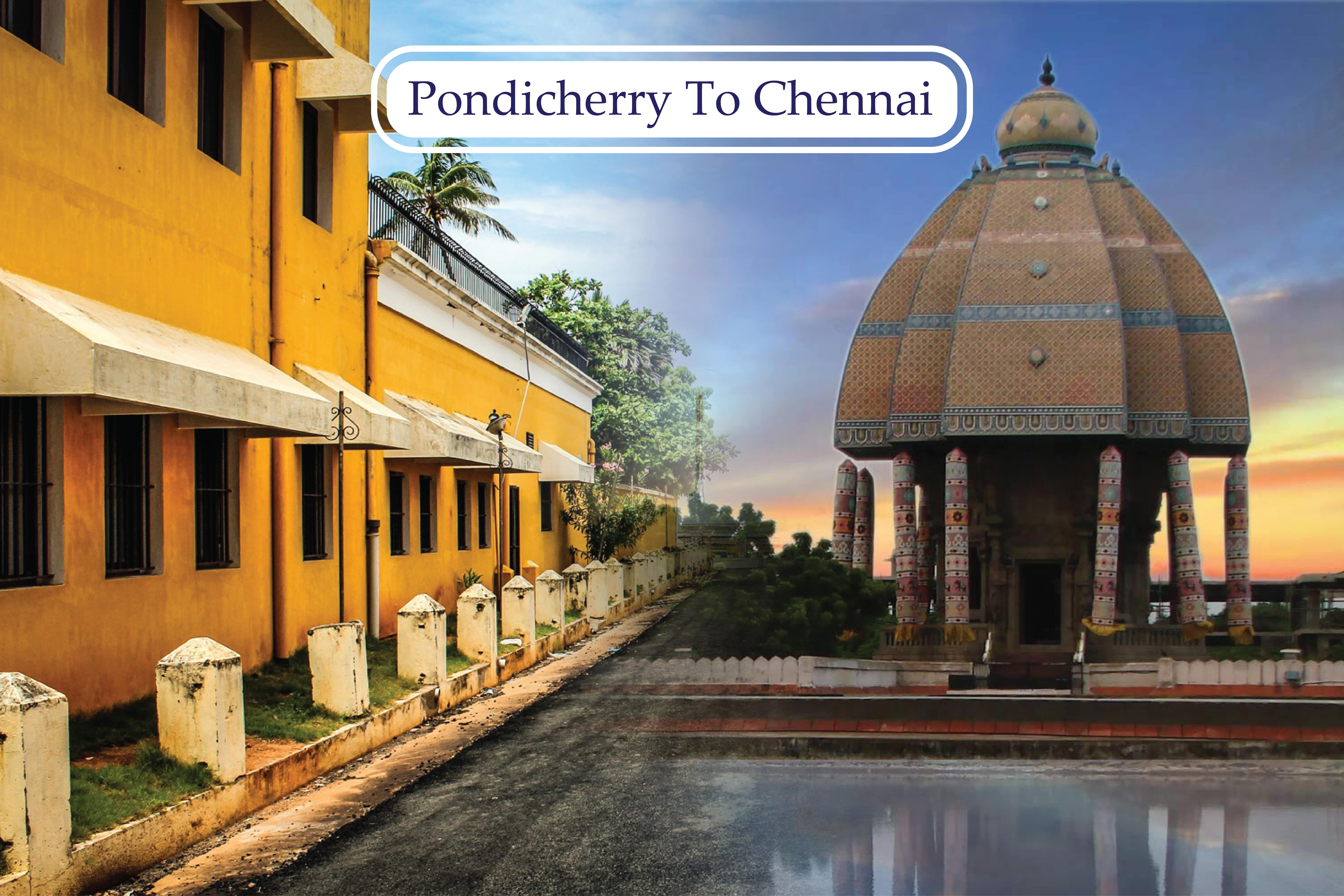 pondicherry to chennai cab